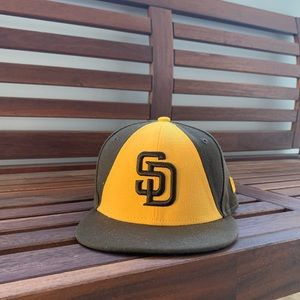 NEW ERA PADRES KIDS AUTHENTIC 59FIFTY FITTED